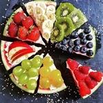 Frische Wassermelonen-Pizza