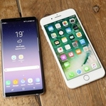 Galaxy Note 8 vs iPhone 7 Plus Hız Testi