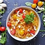 Gesundes Kichererbsen-Curry mit Cousocus