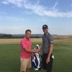 In der Toskana - Golf mit Chris Wood