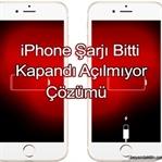 iPhone Kapandı Açılmıyor Sorunu Çözümü