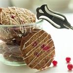 Johannisbeer Cookies mit weißer Schokolade
