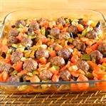Köfteli Patlıcan Yemeği Tarifi