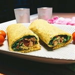 Low Carb Wrap mit Thunfisch