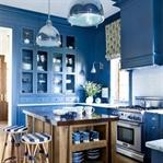Mavi Mutfak Modelleri ve Örnekleri