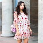 Organza Flower Dress