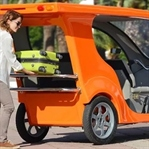 Sadece güneşle çalışan yerli  araç!