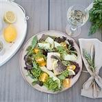 Salat mit Kärntner Laxn