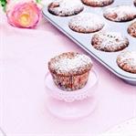Schoko Muffins mit Sauerkirschen