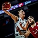 Slovenya - Letonya basketbol resitali