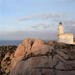 Sonnenuntergang am Capo Testa auf Sardinien