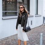 Style Mix - Midi Skirt & Hoodie