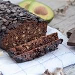 Veganes Avocado-Schokoladenbrot