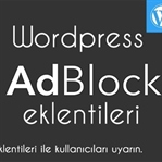 WordPress Adblock Eklentileri