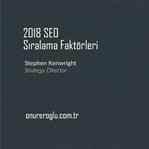 2018 SEO Sıralama Faktörleri