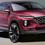 2018 Yeni Hyundai Santa Fe Çizimleri Yayınlandı