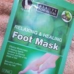 Beauty Formulas Relaxing & Healing Foot Mask