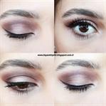 Eyeliner'lı Göz Makyajı