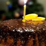 Şekersiz Doğumgünü Pastası