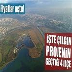 İşte Çılgın Proje Kanal İstanbul'un Geçtiği 4 İlçe