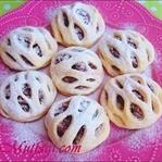 Turta şeklinde elmalı kafes kurabiye tarifi