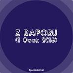 Z Raporu (1 Ocak 2018)