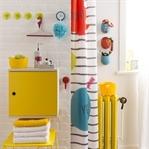 Banyo Dekorasyonunda Sarı Rengin Kullanımı