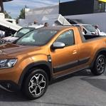 Dacia Duster Pick-up, Romanya'da Görüntülendi