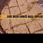 Evde Mısır Ekmeği Tarifi