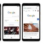 Google Yeni Ana Sayfa Tasarımını Kullanıma Sundu