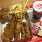 Antalya'da Arden Fried Chicken Deneyimim