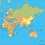 Dünya Haritası Gerçek Değil
