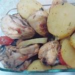 Fırında Poşette Tavuk Tarifi