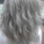 Gri saçı nasıl elde ettim...