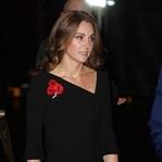 Kate Middleton: Roland Mouret Asimetrik Elbise
