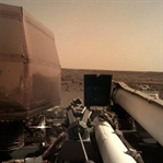 NASA Insight Lander Mars'a İndi