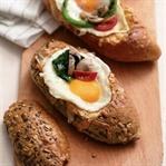 Sandviç ekmeğinde omlet tarifi