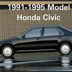 1991-1995 Model Honda Civic