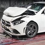 2019 Mercedes A 180D 'ye Çarpışma Testi