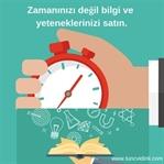 Zamanınızı Değil Bilgi ve Yeteneklerinizi Satın