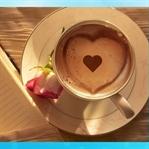 14 Şubat Sevgililer Gününe Özel Cappucino Kahve