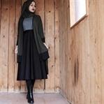 2018 Tesettür Giyim Sokak Kombinleri