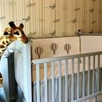 Balonlu Safari Temalı Yan Korumalar