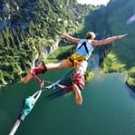 Çılgın bir spor : Bungee Jumping !