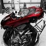 Elon Musk'ın Uzaya Gönderdiği Tesla Arabası