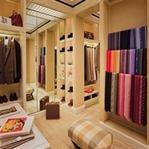 Ev dekorasyonunda stil merkeziniz: Giyinme odası