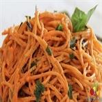 Fesleğenli Domatesli Spagetti Yapımı
