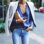 Trend: Açık renk yıkanmış jean pantolon