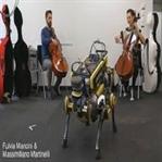 Harika dans eden robot, insanlara iyi görünmeye ça