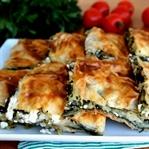 Hazır Yufkadan Ispanaklı Sodalı Börek Tarifi